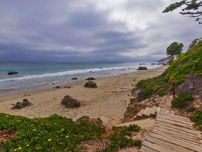 Photo for Private Broad Beach Home - Steps to the beach
