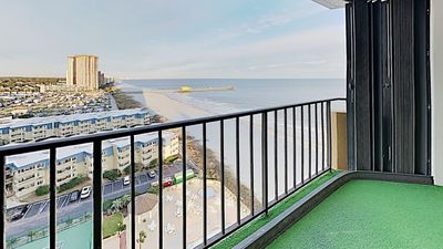 Photo for Best Views In Myrtle Beach form Huge Balconies Off The Big Blue Atlantic