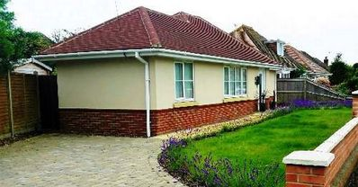 Photo for BOURNECOAST: Delightful furnished two bedroom bungalow built in 2015 - HB5845