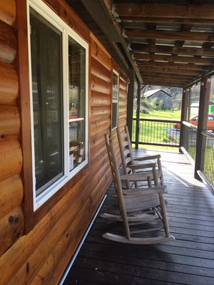 Photo for Summer 5th Nt Free! Hummingbird Cabin @ Birds Creek! Rockers, Fire Ring, Sleep 4