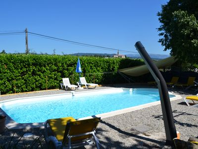 Photo for Villa with pool for 10 people, fully equipped, air-conditioned