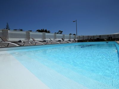 Photo for Warmed swimming pool in quiet zone 300m to YumboC3
