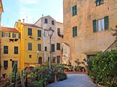Photo for One bedroom Apartment, sleeps 4 in Imperia with Air Con and WiFi