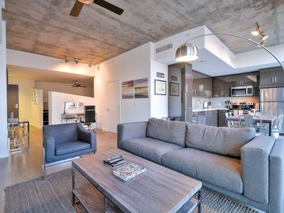 Photo for Brand New Highrise in Prime DTLA - 2-bedrooms, 2-bathrooms - Free parking & WiFi