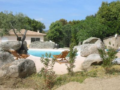 Photo for Porto-Vecchio 6 persons pool villa rental