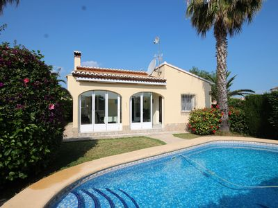 Photo for Within walking distance of the beach at Els Poblets, cozy 2 bedroom villa
