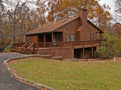 This Comfortable Cabin is Waiting for You in the Heart of Deep Creek Lake!