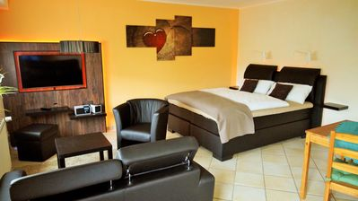 Photo for Modern holiday rooms at the World Heritage Middle Rhine Valley - St. Goar - Loreley