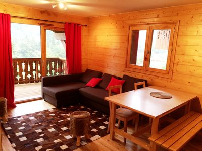 Photo for 3 room apartment in a mountain chalet MGM