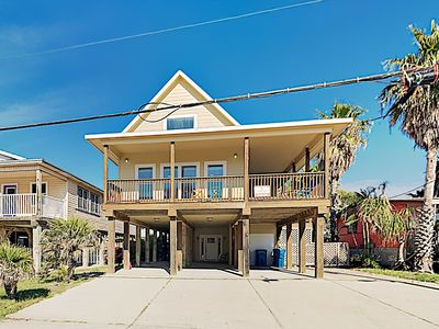 Photo for Big & Bright Beach Beauty w/ Large Deck & Outdoor Shower, Walk to Beach