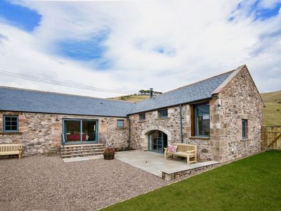 Photo for THE BYRE AT REEDSFORD - sleeps 4 in 2 bedrooms near Wooler