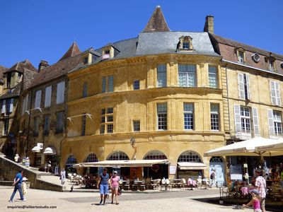 Photo for Sarlat Medieval City - Exceptional Location & View in the Heart of Sarlat