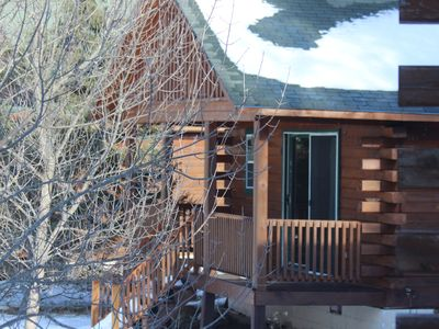 Photo for Wilderness Bay Lodge and Resort - EAGLE CABIN #4 - Cisco Chain of Lakes