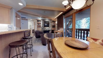 Photo for 2 bedroom/2 bath condo Bridge Street Lodge Vail Village Ski in and out
