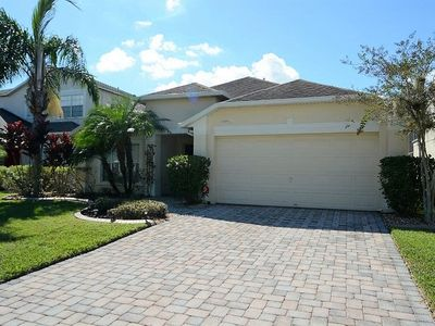 Photo for 4/3 Orlando Vacation Home with GORGEOUS WATER VIEW & OUTDOOR SPA!