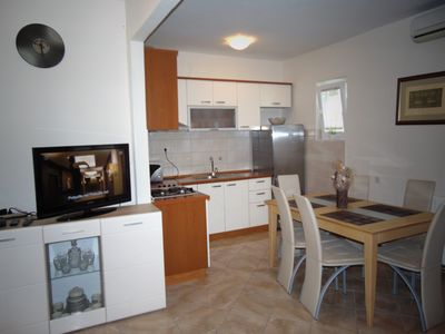 Photo for Romantic apartment Katarina for 4 people, just few minutes from the beach