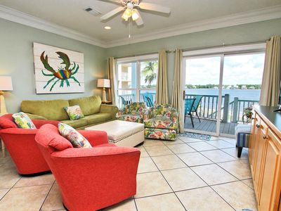 Photo for On Golden Pond 8A - Relax in Paradise! The Beach is Calling Your Name