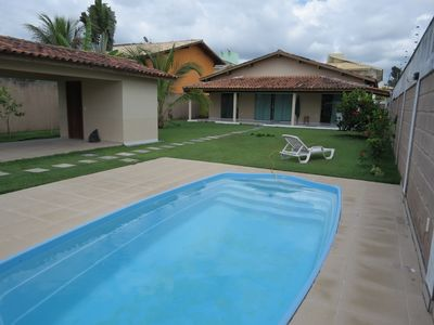 Photo for Villa with Swimming Pool, 3/4 with air conditioning, balcony, churraqueira, 24hr security