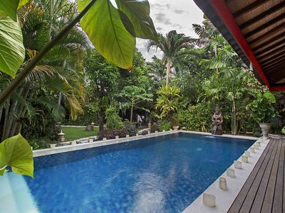 Photo for Private Villa Rental with Large Garden and Pool in Seminyak Bali