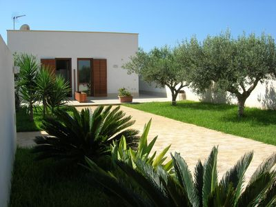 Photo for Apartment in villa with garden ideal for families looking for relaxation