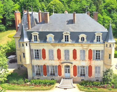 Photo for Holiday house in Château de Champagne, luxurious, private for 1 Family /group