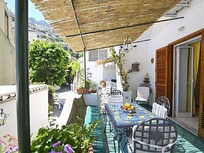 Photo for 2 bedroom Villa, sleeps 6 in Positano with Air Con and WiFi