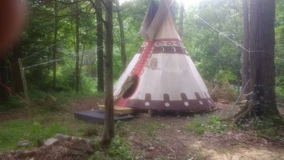 Photo for Sioux Tipi on Chloe's Lake