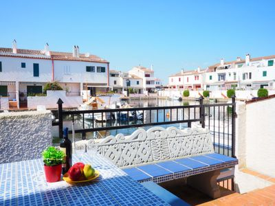 Photo for Vacation home Currican 57  in Empuriabrava, Costa Brava - 4 persons, 2 bedrooms