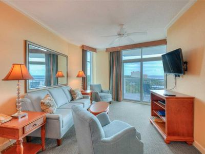 Photo for NEWLY FURNISHED! Ocean view condo with a host of lavish amenities and all the comforts of home!