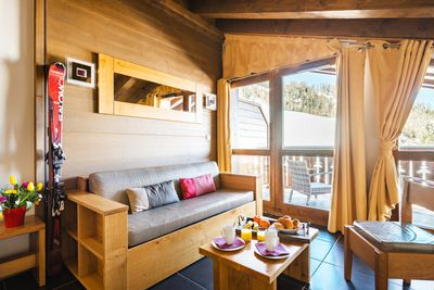 Our apartment is a wonderful base for a ski vacation in the French Alps!