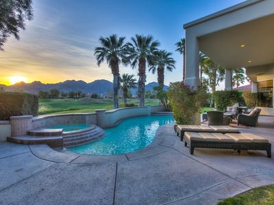 Photo for 'Callaway' PGA West home with panoramic million dollar views of mountain & golf