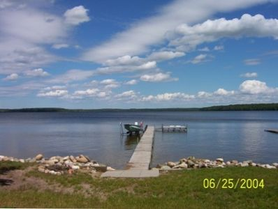 View of Dock and Lake