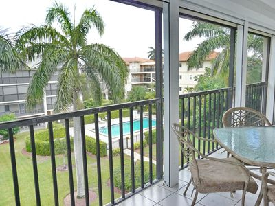 Photo for South end condo with heated pool, hot tub and short walk to South Beach