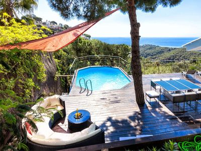 Photo for Luxe View from 250 sq.meter Wooden terrace