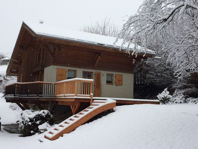 Photo for Contemporary Cottage in the center of Saint Gervais