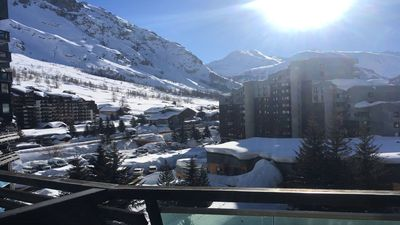 Photo for Apartment at the foot of the slopes / val d'isère-la daille / one bedroom / 6 people