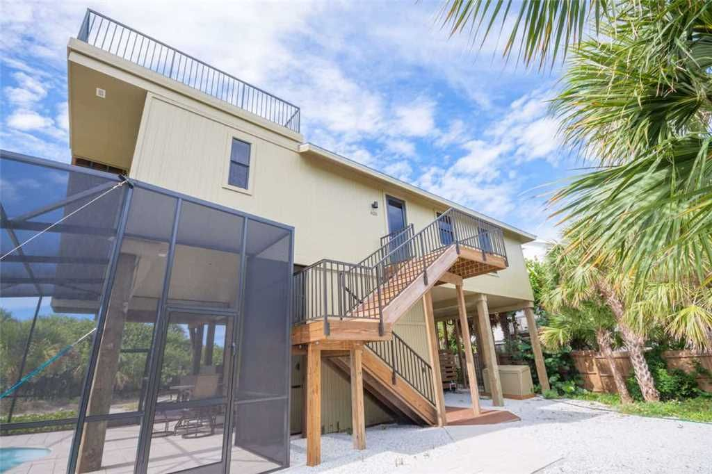 Brand New Beachfront 3 Bedroom 2 Bath With Private Pool On North Captiva Island 3 Br Vacation