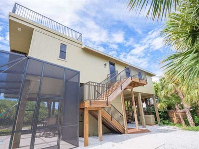 Photo for BRAND NEW GULFFRONT 3 BEDROOM 2 BATH WITH PRIVATE POOL ON NORTH CAPTIVA ISLAND