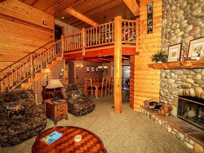 Photo for ~Dreams Of Summit~Upscale Log Retreat~Pool Table~Hot Tub~Central Location~