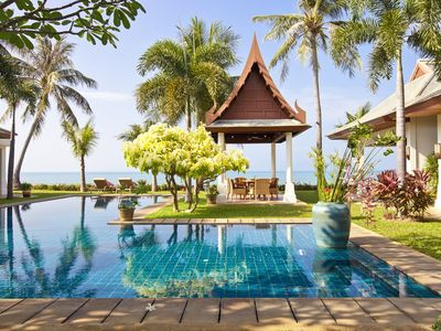 Photo for Villa Waterlily | Beachfront | Private Pool