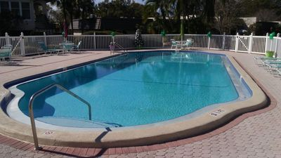 Photo for First floor villa steps from pool: private yet close to conveniences.