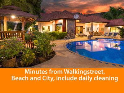 Photo for Luxurious Villa Pattaya Hill, minutes from town