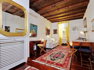 Photo for Trastevere Lovely Studio Apartment