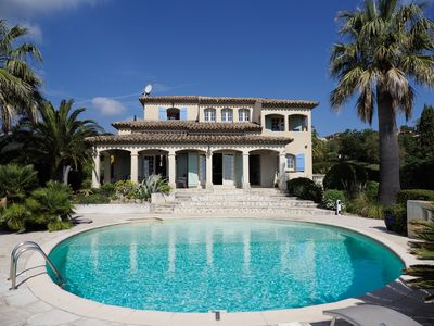 Photo for Amazing Villa with Great Sea Views on Côte d`Azur!!! Short stroll to the Beach