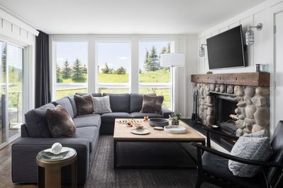 Cozy living room for lounging or entertaining
