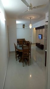 Photo for Spacious 3bhk flat at heart of the town.(2ac)