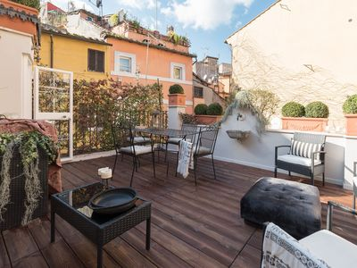 Photo for Navona Luxury & Charming Apartment with Terrace