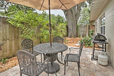 Explore Winter Park 4 miles out or take it easy on your private patio.