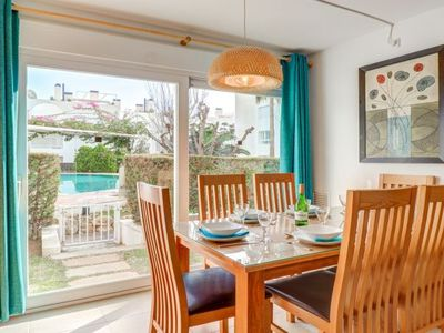 Photo for 3 bedroom Apartment, sleeps 6 with Air Con, FREE WiFi and Walk to Beach & Shops