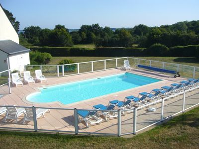 Photo for GULF OF MORBIHAN - GOLFE WEEK- BEAUTIFUL T2 RENOVATED WITH HEATED SWIMMING POOL
